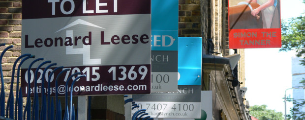 London rental signs