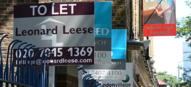London rental signs