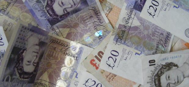 UK 20 Pound Notes