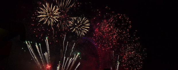 New Year's Eve in London