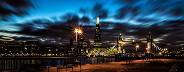 London City View at night