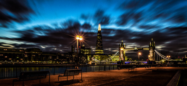 London City View at night