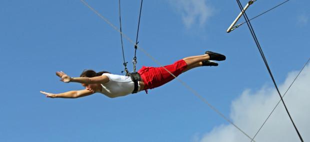 Gorilla Circus trapeze