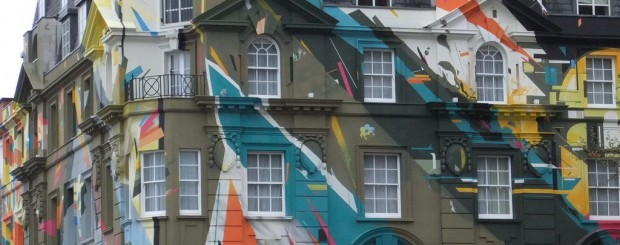 Painted Building